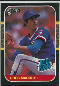 Greg Maddux Rookie Card