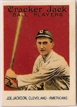 Shoeless Joe Jackson Baseball Card